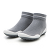 Komuello Grey Pocket Shoes For Women