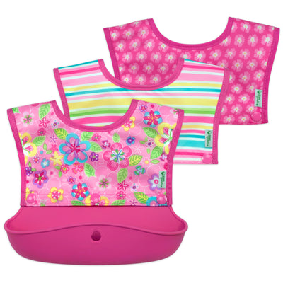 Snap & Go™ Silicone Food-catcher Bib