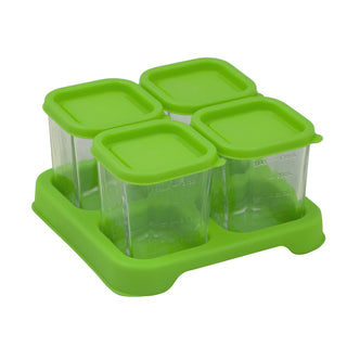 Fresh Baby Food Glass Cubes (4oz/4pk)