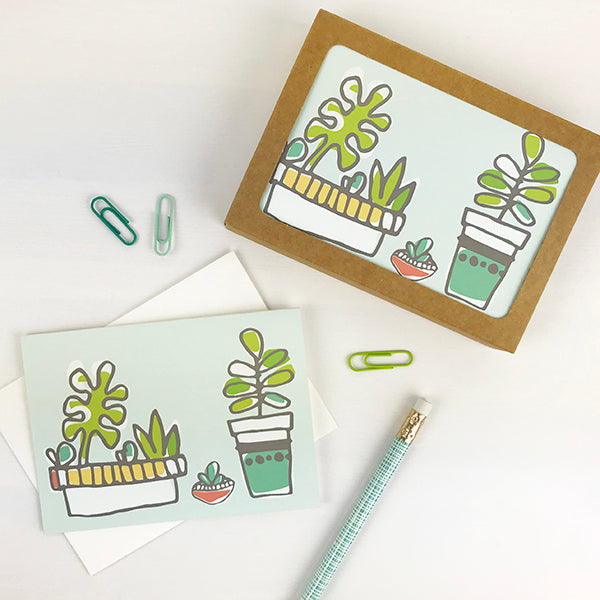 Succulent Note Cards