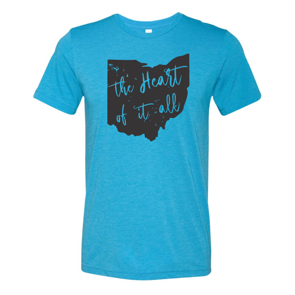 Heart of It All Triblend Soft T-Shirt