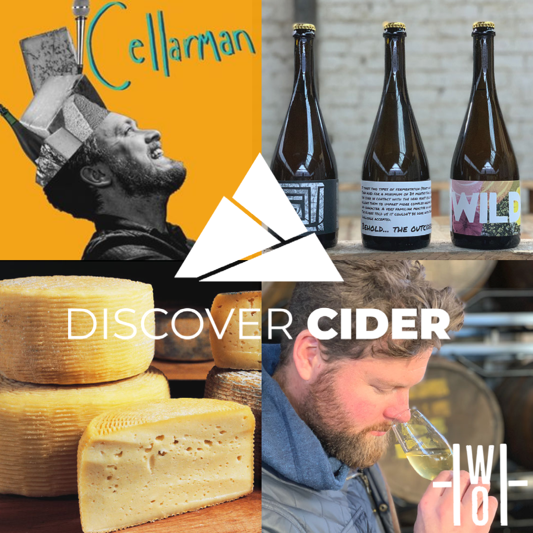 How too ....Pair Cider with Cheese Masterclass live With Sam Wilkin from The Cheese Bar London