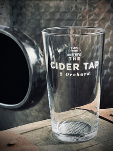 THE CIDER TAP & ORCHARD GLASSWARE