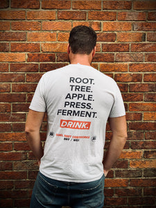 REBEL ROOT - ROOT, FERMENT T-SHIRT