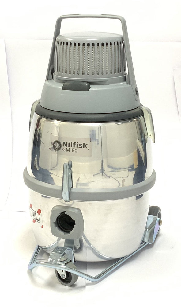 Nilfisk GM80 Professional w/ Certified HEPA Filtration - Nilquip Ltd