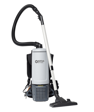 Nilfisk GD5 HEPA Backpack Vacuum Cleaner - Nilquip Ltd