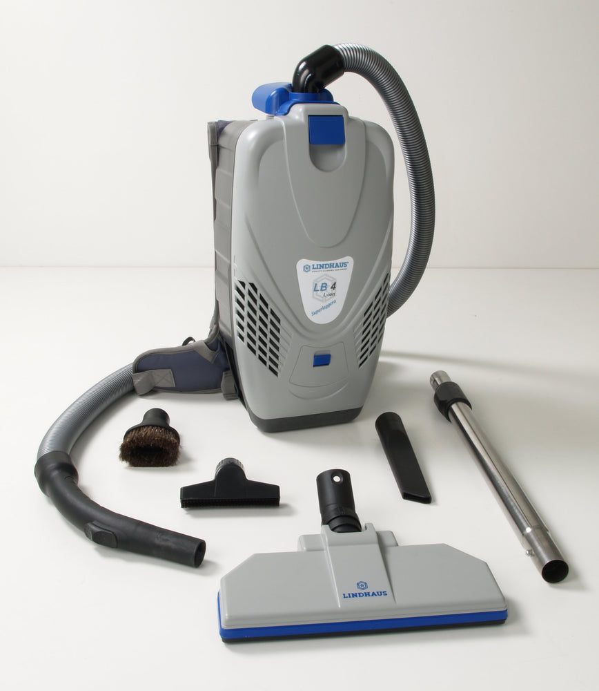 Lindhaus LB4 Battery Backpack Vacuum Cleaner - Nilquip Ltd