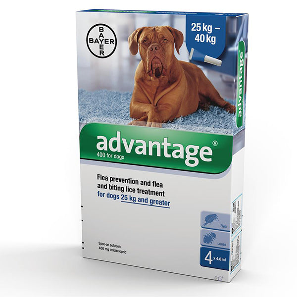 Advantage Dog Over 25kg at Petremedies