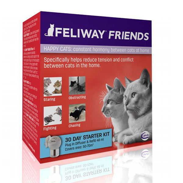 Feliway Friends Diffuser Pack (48ml) at Petremedies