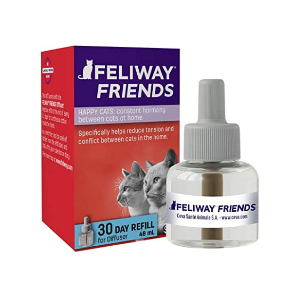 Feliway Friends Refill (1month 48ml) at Petremedies