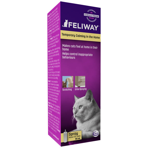 Feliway Spray (60ml) at Petremedies