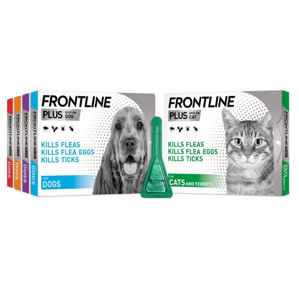Frontline Plus for dogs and cats at Petremedies