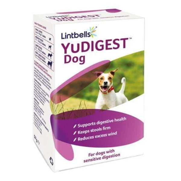 Lintbells YuDigest for Dogs 60 Tabs at Petremedies
