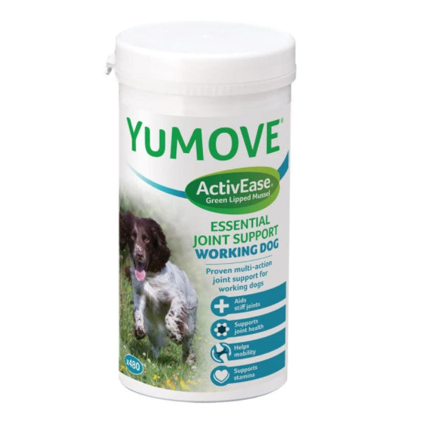 Lintbells YuMove ActiveEase Working Dogs 480 Tabs at Petremedies