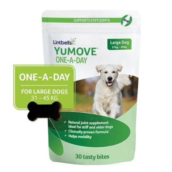 Lintbells YuMove Chewies One A Day (30 chews) Large Dog