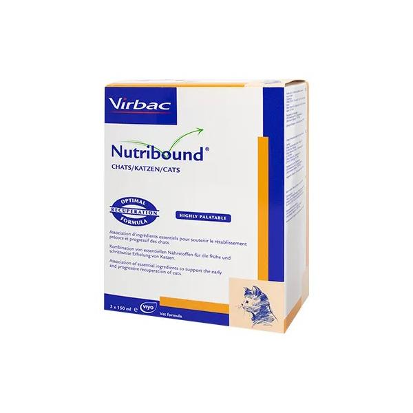 Nutribound for cats 3x150ml at Petremedies