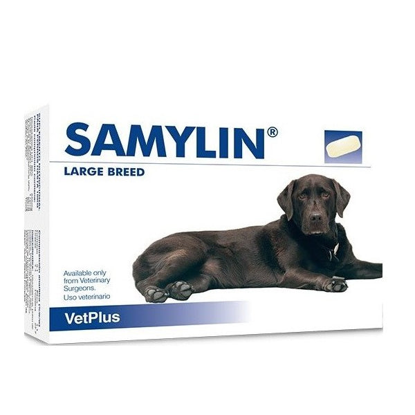 VetPlus Samylin Tablets for Large Dog (30pk) at Petremedies