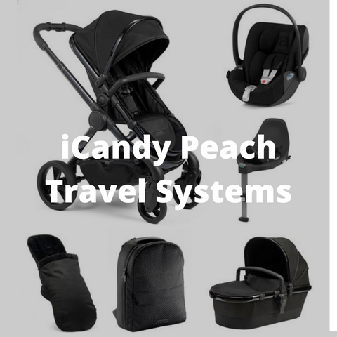 icandy peach travel systems