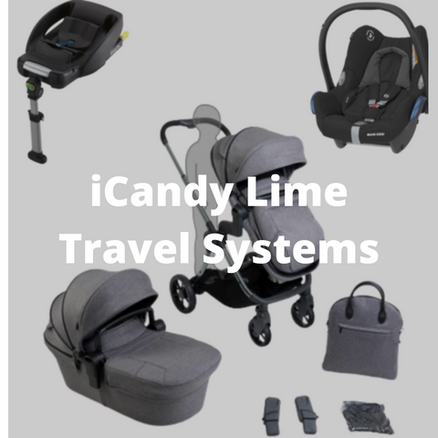 icandy lime travel systems