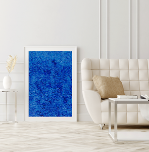 Framed Art Blue Waves