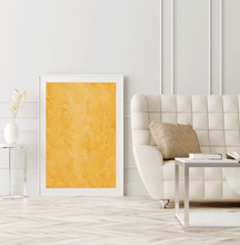 Load image into Gallery viewer, Framed Print Art Yellow Texture