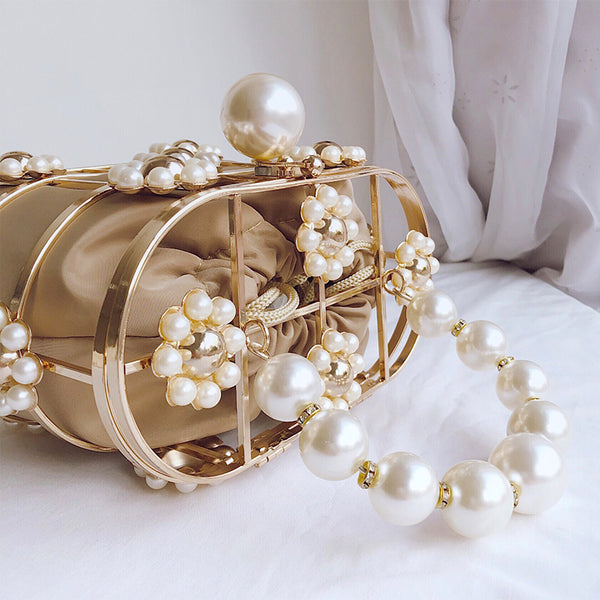 Pearl Basket bag fashion