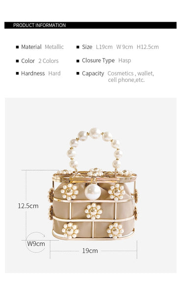Princesse Blake beige Basket Bag