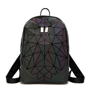luminous geometric bag