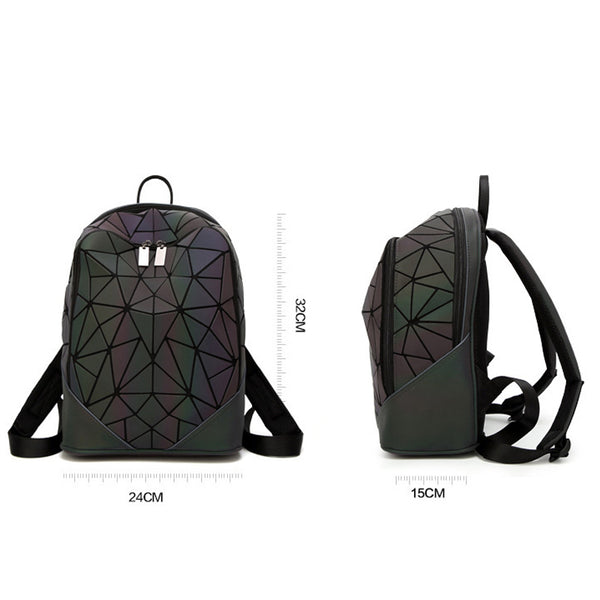 Princesse Maryam Luminous Geometric Backpack