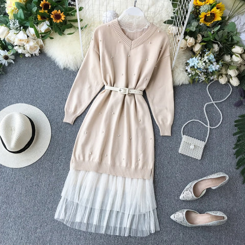 Princess knit dress