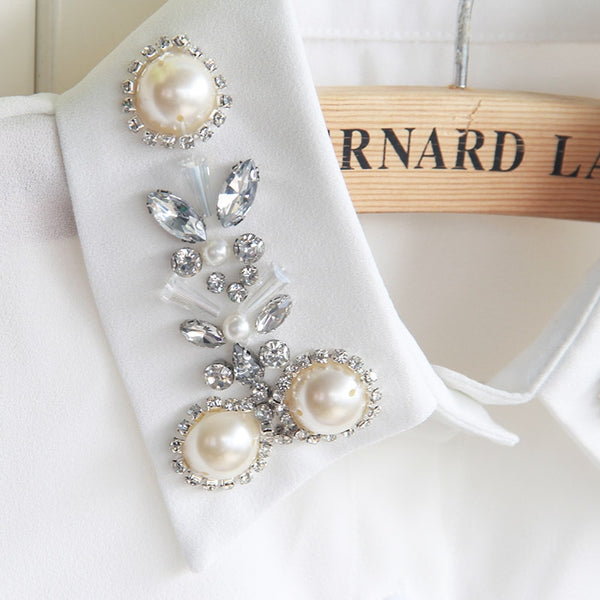 Princesse Paris Pearl False Collar