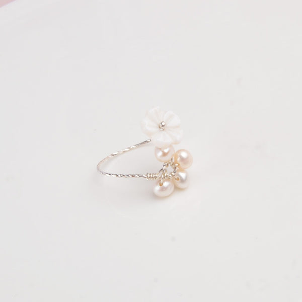 Princesse Araya Genuine Pearl Ring