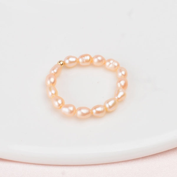 Princesse Rita Genuine Pearl Ring