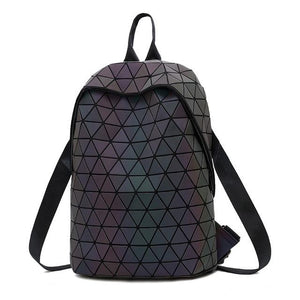 luminescent triangle backpack