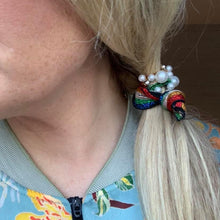 Load image into Gallery viewer, Rainbow Beaded Hair Tie