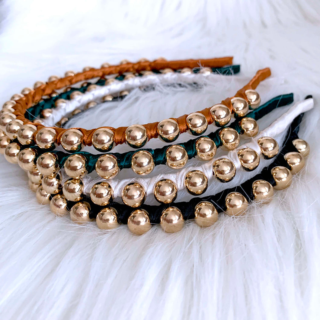 Slimline Beaded Headband