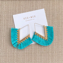 Load image into Gallery viewer, Francis Fringe Earrings