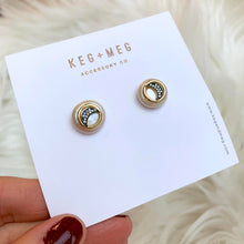 Load image into Gallery viewer, Charmed Pearl Studs