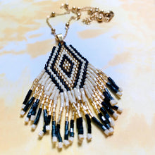 Load image into Gallery viewer, Tribal Fringe Necklace