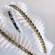 Load image into Gallery viewer, Pleated Lace Headband