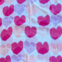 Load image into Gallery viewer, Pink Heart Scarf