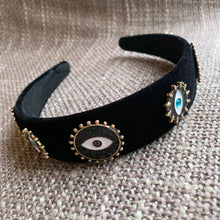 Load image into Gallery viewer, Evil Eye Headband