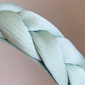 Seafoam Braided Headband