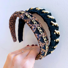 Load image into Gallery viewer, Leopard Chain Headband