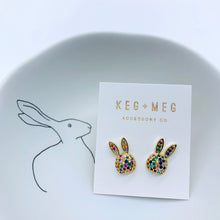 Load image into Gallery viewer, Rainbow Rabbit Earrings