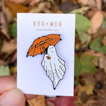 Load image into Gallery viewer, Enamel Ghost Pin