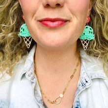 Load image into Gallery viewer, Two Scoops Earrings
