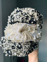 Load image into Gallery viewer, Lace & Pearls Headband