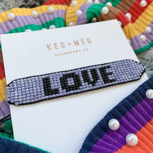 Load image into Gallery viewer, Love is Love Beaded Bracelet