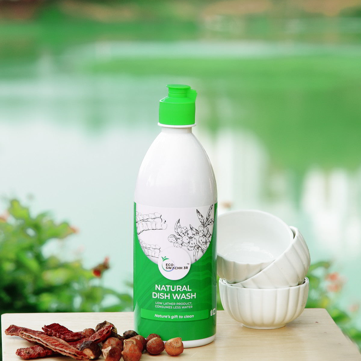 ECOSWACHH 3R - NATURAL DISH WASH 550ml